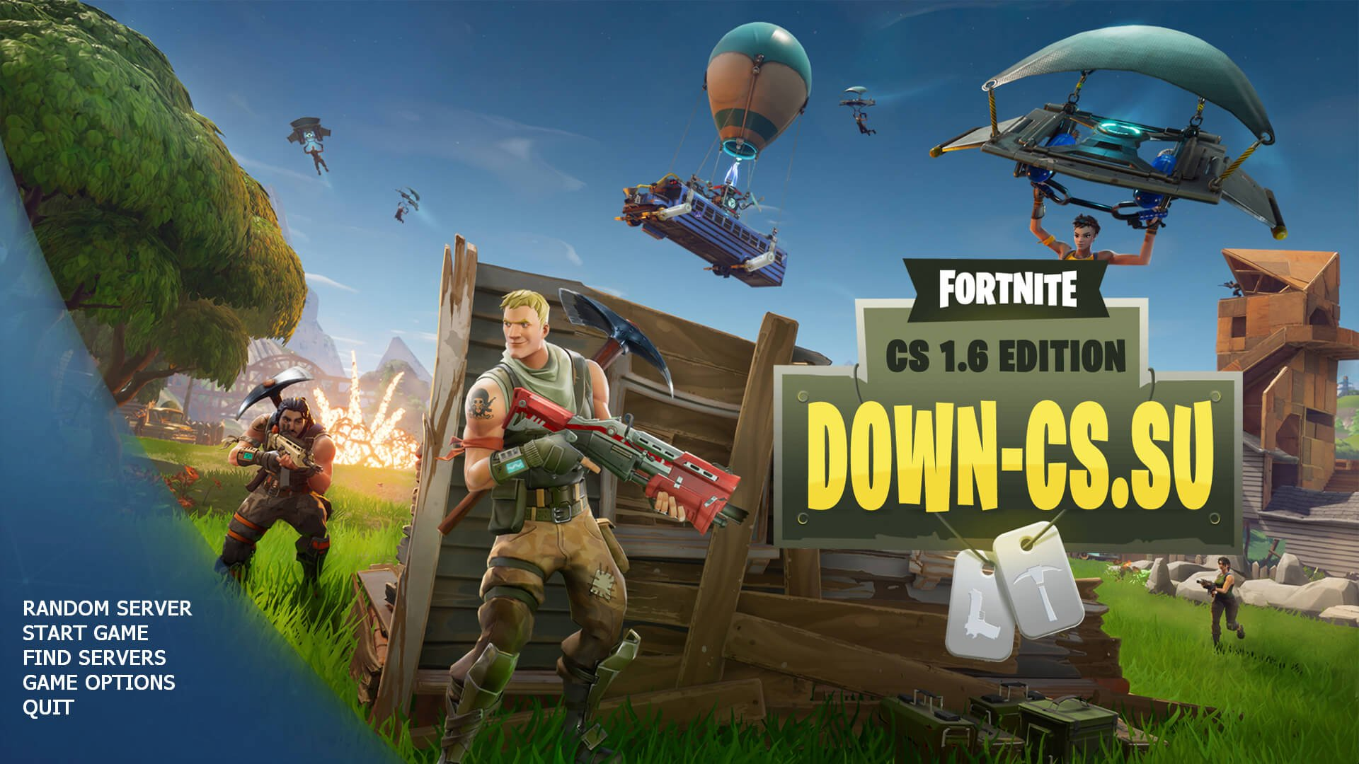 Download CS 1.6 Fortnite Edition