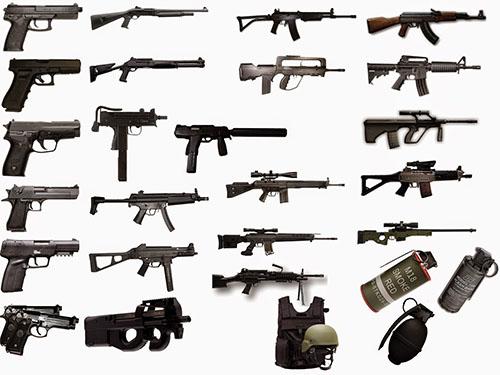 CS 1.6 Weapons