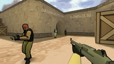 Counter-Strike 1.6 Cartoon Edition